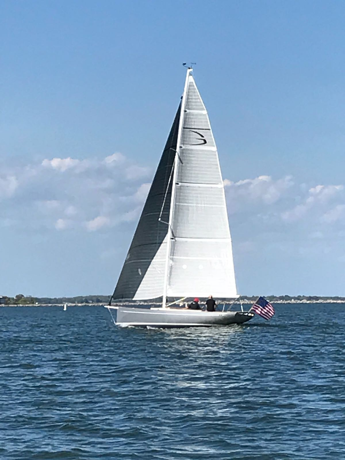 Essence 33 #6, first sail