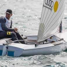 Berecz gold in Finn test event Tokio